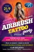 Airbrush Tattoo Party - Club Ballagio Říčany